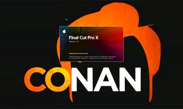 Conan's editors really love Final Cut Pro X... or maybe they don't (video)
