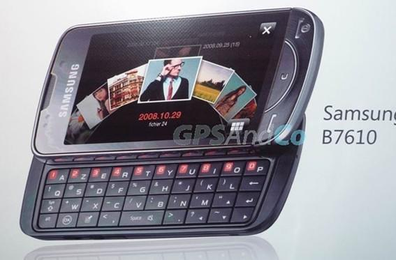 Samsung B7610 Louvre rematerializes, spec'd and caught on camera