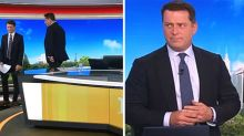 Karl Stefanovic walks off Today set over 'mean' tweet