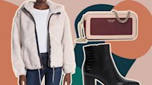 Shop Cozy Jackets, Fall Booties, and Sweater Dresses For Up to 65% Off at Nordstrom Rack