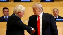 Trump says Boris Johnson would do 'great job' as Britain's prime minister