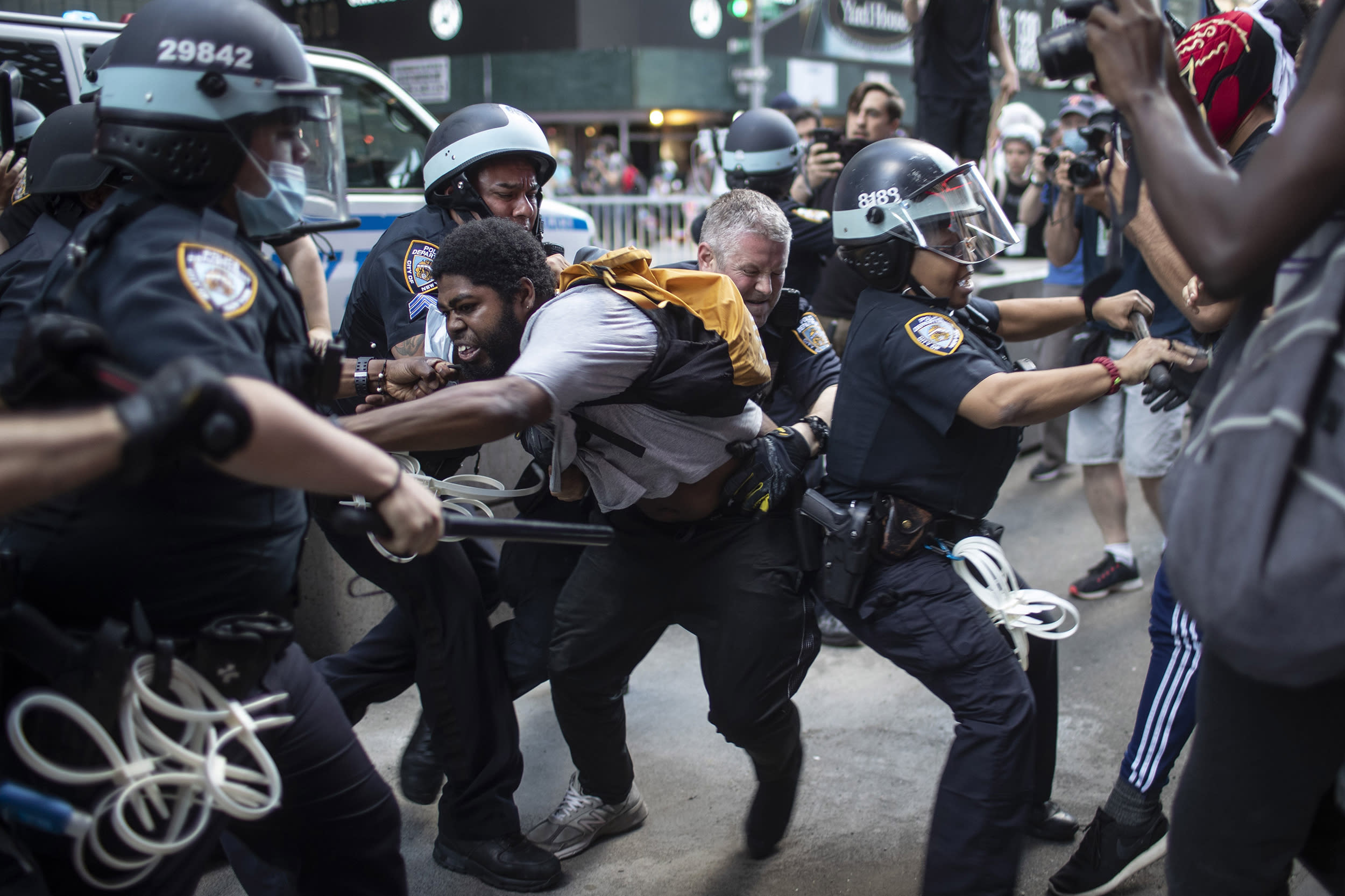 'Cops' dropped, 'Law & Order' revamped: How TV shows are responding to police protests
