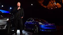 Elon Musk says Tesla has 'a decent shot' at a new production record