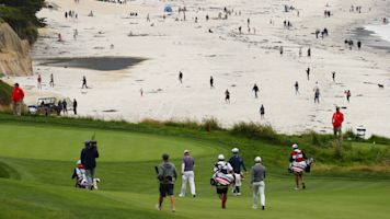 You can walk onto course at Pebble ... but don't