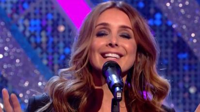 Louise Redknapp performs for first time after divorce