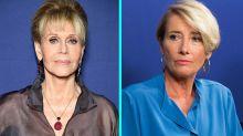 Jane Fonda Feels 'Ashamed' For Not Speaking Out on Harvey Weinstein, Emma Thompson Calls Him a 'Predator'