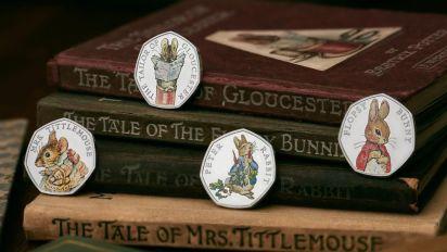 Four new Beatrix Potter 50p coins revealed