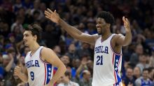 On second thought, Joel Embiid thinks that he, not Dario Saric, is the Rookie of the Year