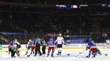 Column: The NHL embarrasses itself again as MMA On Ice