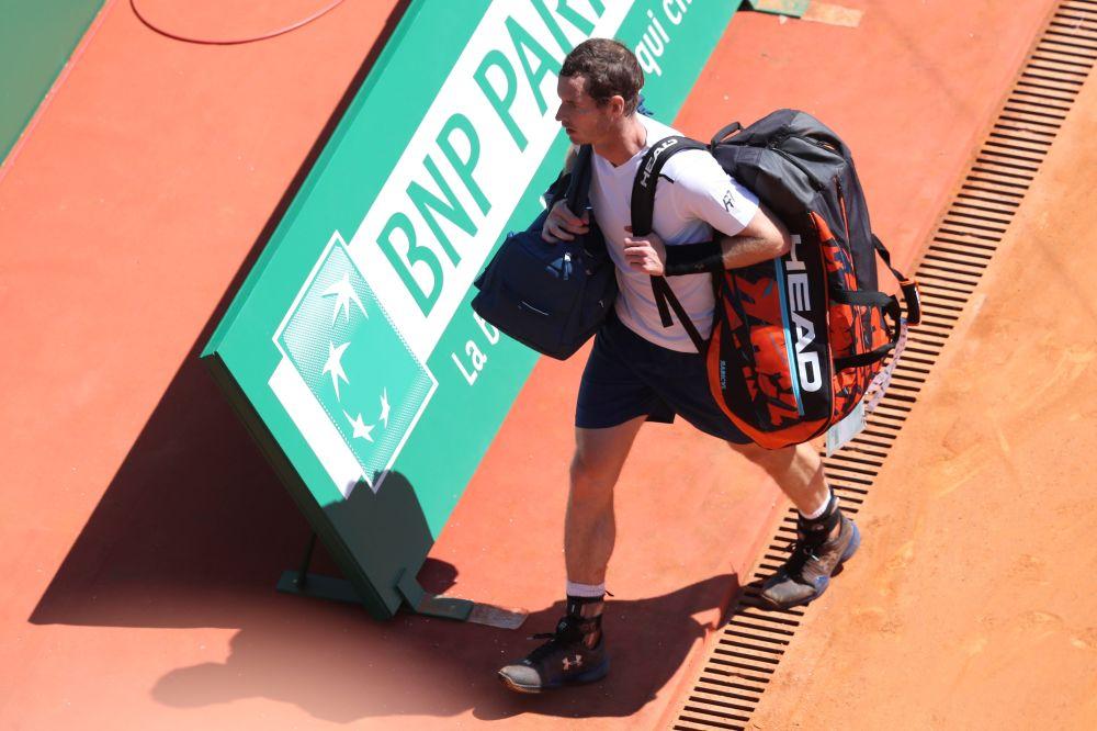 Monte-Carlo: Andy Murray éliminé dès les huitièmes
