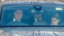 Prince William draws criticism for letting Prince George ride in front seat — is it legal?