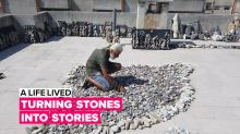 A Life Lived: Telling the stories of Syria's refugees one stone at a time
