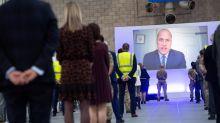 Prince William praises 'selfless commitment' of NHS as he opens Nightingale hospital Birmingham via videolink