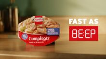 The Makers of Hormel® Compleats® Microwave Meals Announce New Ad Campaign: Fast as BE:EP