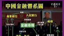 一幅圖睇 中國金融錢如何走