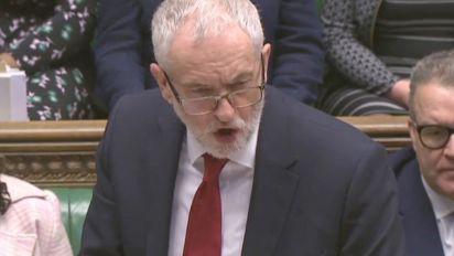 Corbyn calls PM 'negligent' over Carillion collapse