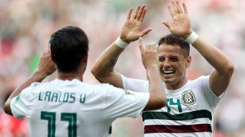 Mexico beats South Korea, clinches advancement