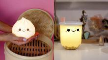 讓小籠包、珍奶、杯面,壽司成為睡房好友!實用+治癒+可愛亞洲美食小夜燈