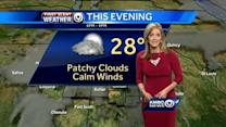 Milder Friday may lead to snowy start on Saturday