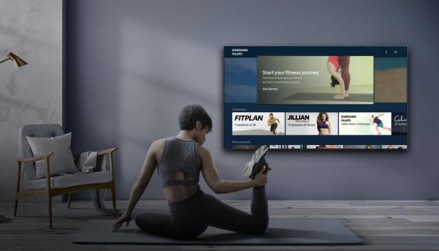 Samsung's Health platform arrives on its 2020 TVs