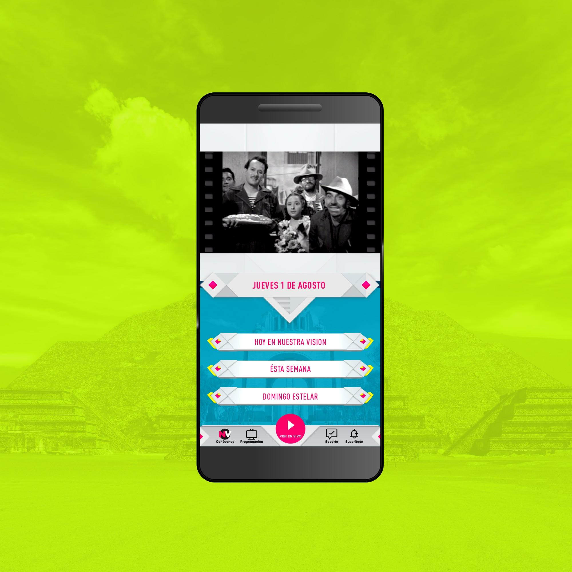 News post image: Nuestra Vision Launches Free Mobile App for US Mexicans and Overall Hispanic Market