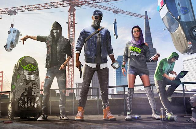 Sony suspends player who found a sex organ in 'Watch Dogs 2'