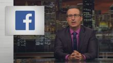 John Oliver shares the brutally honest Facebook ad we actually deserved