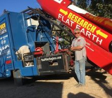 Man Plans To Launch Himself In Homemade Rocket Funded By Flat-Earthers