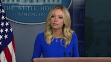 White House press secretary Kayleigh McEnany clashes with reporter over alleged lost mail-in ballots