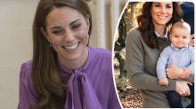 Kate Middleton gives rare update on Prince Louis
