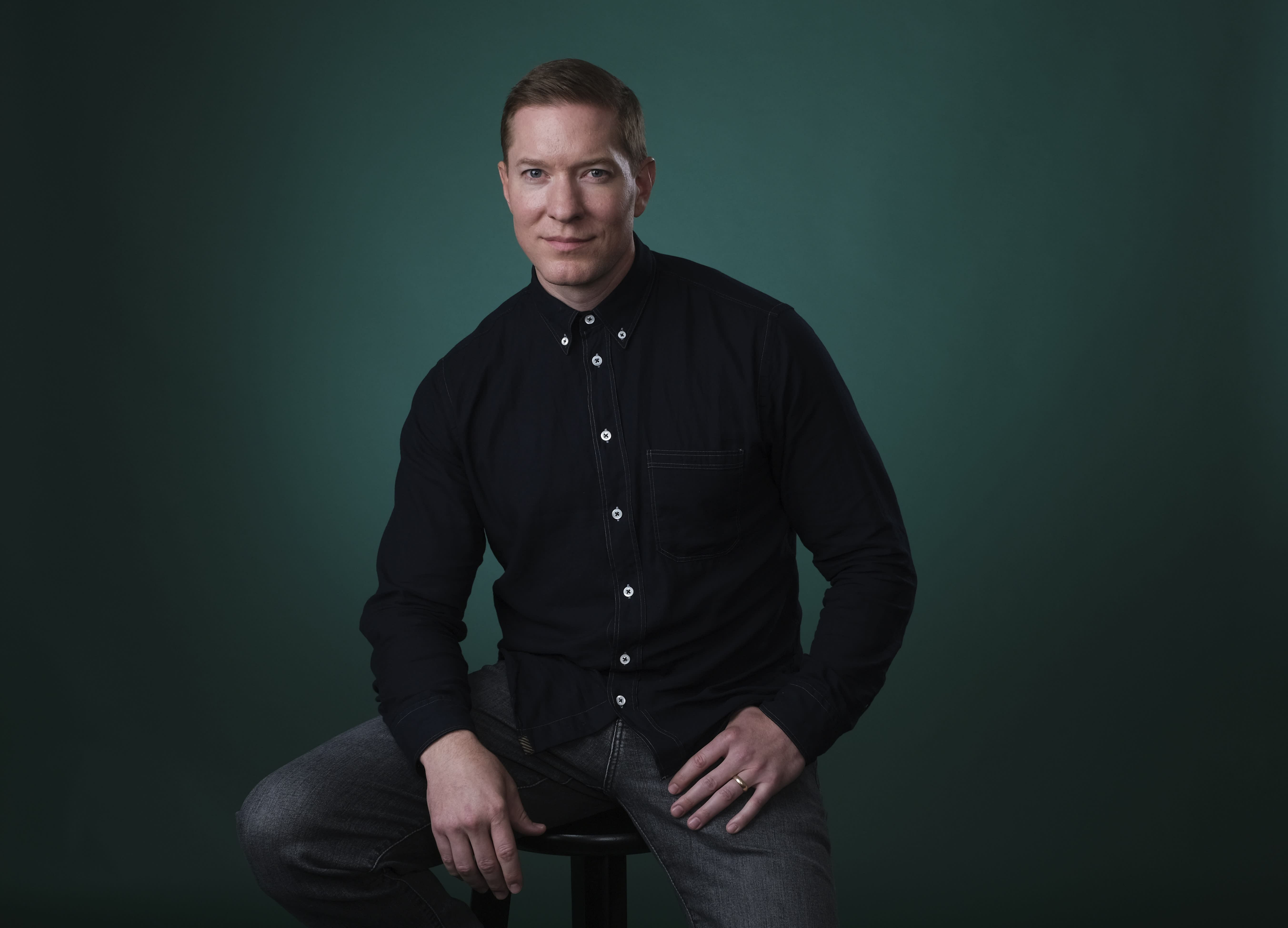 """In this Friday, July 26, 2019 photo, Joseph Sikora poses for a portrait during the Television Critics Association Summer Press Tour at the Beverly Hilton in Beverly Hills, Calif. Sikora appears on """"Power,"""" the Starz series that has turned into a ratings juggernaut and already sparked plans for a spinoff. The show begins airing its final season on Sunday, Aug. 25. (Photo by Chris Pizzello/Invision/AP)"""