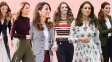 Kate Middleton Ran in Chic Green Culottes This Morning at a Sporing Event