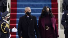 'Michelle Obama and her husband have arrived': Canadians praise Obamas at Biden and Harris inauguration