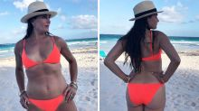 Brooke Shields shares secret to bikini confidence at 55