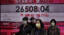 Asian markets slump following further losses on Wall Street