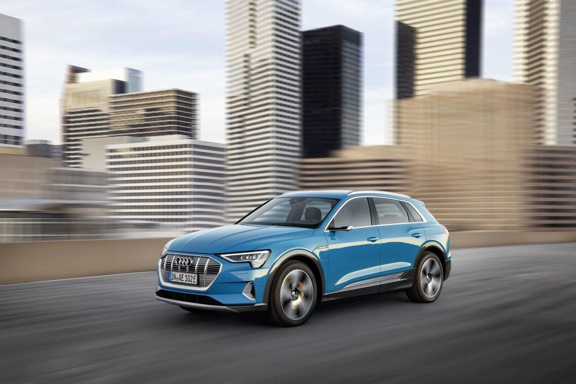 Audi S First Fully Electric Vehicle To Be Sold In The States Will This Handsome Mid