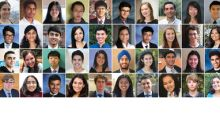Forty of the Nation's Most Brilliant Young Scientists Named Finalists in Regeneron Science Talent Search 2019