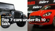 Watch: The coolest cars under Rs 10 lakh