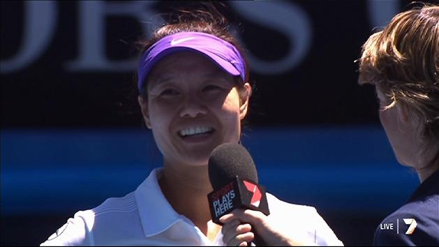Post Match Interview: Li Na