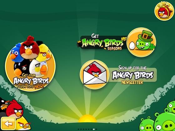 Ads in Angry Birds cause some squawking