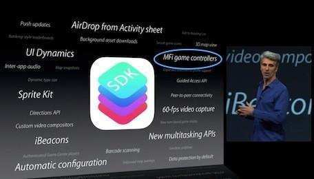 Hardware game controllers for iOS devices may be right around the corner