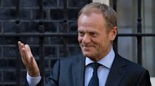 "Donald Tusk says he still ""dreams"" that Brexit will be cancelled"