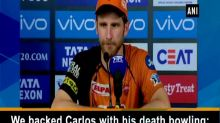 We backed Carlos with his death bowling: Kane Williamson