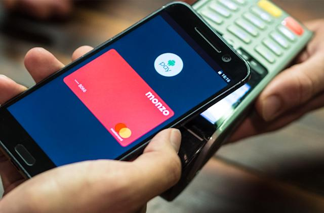 Digital bank Monzo now supports Android Pay