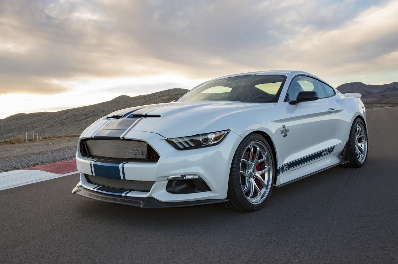 Shelby celebrates the super snake s 50th year with a 750 horsepower mustang gt