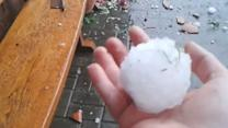 Hail storm wreaks havoc in Germany