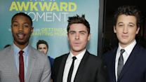 No Awkward Moments for Efron, Teller and Jordan