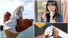 日本超正「炸蠔雪糕」 完美組合高度推介