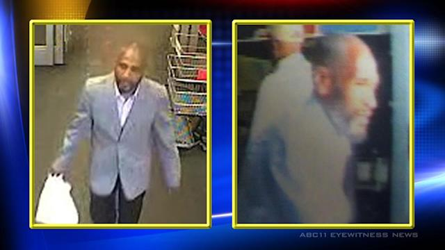 Raleigh police search for alleged wallet thief