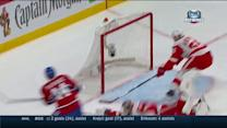 Gustavsson lays down paddle for super save